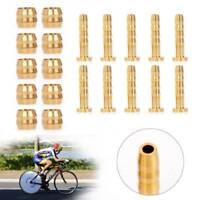 10 Paar Fahrrad Olive Connector Einfügen Für SHIMANO BH59 Hydraulik Brems Hose