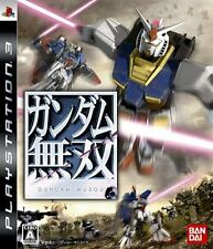 PS3 Moble Suit Gundam Musou  Sony   soft  Used  Japan Import   Free Shipping