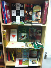 Job Lot Collection of Wine Books & Guides, Great Variety and Range