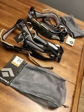 TWO Black Diamond Men's Momentum SA Harnesses NEW, XL Climbing Rappelling