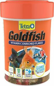 TetraFin Goldfish Flake .42oz Free Shipping