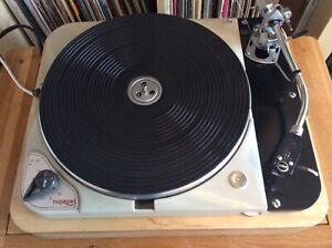 Thorens TD 124 mk1 Turntable With SME 3009 Armboard and Plinth