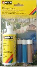 (10,76€/100ml) NOCH 60875, Gewässergrund-Farbset, Aufheller + 3x Farbkonzentrat