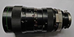 Canon C-16 Macro Zoom Lens C10x12 12-120mm f2.2 - FOR PARTS - READ DESCRIPTION