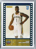 ZION WILLIAMSON 2019-20 PANINI STICKER ROOKIE RC #131 NEW ORLEANS PELICANS