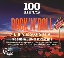 100 HITS ROCK N' ROLL-LOVE SONGS New Digipack Edition 5 CD NEU ADAM FAITH