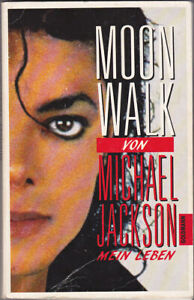 Michael Jackson Livre MOONWALK 1988 Biography German DE Book