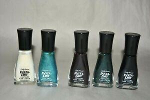 5x sally hansen INSTA-DRI Fast dry nail color 02 12 21 22 24 💗