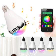 Bluetooth LED RGB E27 3W Glühlampe Glühbirne Bulb Muzik Lautsprecher Farbwechsel