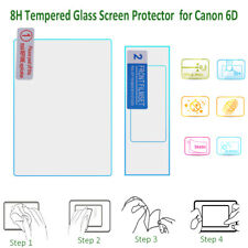 8H Tempered Glass LCD Screen Protector Cover Anti-Scratch for Canon 6D Camera