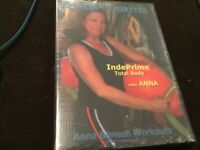 Fitness Favorites: IndePrime Total Body Anna Benson Workouts (DVD, 2007) NEW