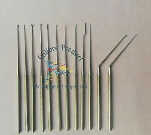 Shea Ear Operation Micro Repositor Set of 12 Pcs Surgical-ENT And Neurosurgical