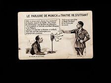 France ANTI Hitler Radio Broadcast Lies Circa 1939 Scarce Period Translation 5k