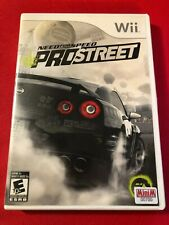 Need for Speed: ProStreet (Nintendo Wii, 2007) (CIB) (VG)