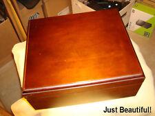 Beautiful Wood Cigar Humidor Humidifier Box