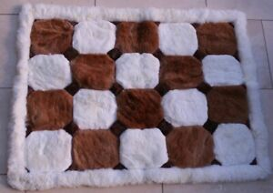 """Alpaca Rugs, 48""""x36"""", Large Patterned REDUCED"""