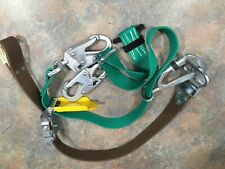 Buckingham 483D Bucksqueeze Lineman Utility Tree Pole Climbing Fall Protection