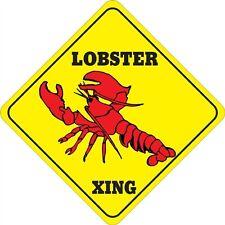 Lobster Xing Sign - Many Sea Life Animals Crossings Av