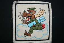 SUPERB 674TH BOMB SQUADRON 5TH AAF AIR FORCE A2 JACKET PATCH WOLF PACK