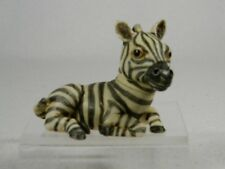 Harmony Kingdom Ball Pot Bellys / Belly 'Checkers' Zebra - NEW #PBZZE  NIB!