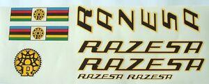 Razesa complete set of decals vintage Spanish foil option