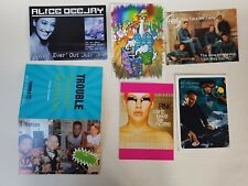 Planet Boomerang Promo 6 Cards 2000s music Pink Pete Tong McDuck