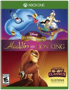 Disney Classic Games: Aladdin and The Lion King - Microsoft Xbox One [XBONE] NEW