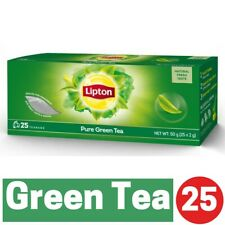 Free Shipping Lipton Pure Green Tea (25 Tea Bags) x 2 boxes