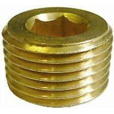 Barbed & Threaded Fittings M16 x 1.5 Metric Allen Key Plug - Brass JDY20.M16