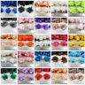 1 METRE CHIFFON FLOWER TRIM *23 COLOURS* FABRIC HABERDASHERY CRAFT - UK SELLER