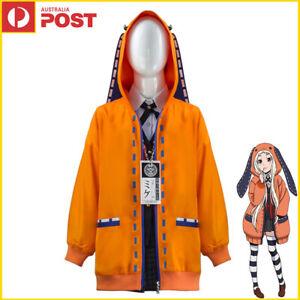 Kids Girls Kakegurui Yomoduki Runa Grils Hoodie Outfit Uniform Cosplay Costume