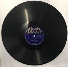 BLUE LU BARKER Don't You Make Me High He Caught That B&O 78 RPM Record Decca '38