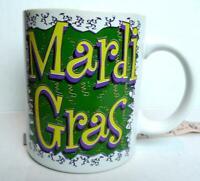 Mardi Gras Slogan  Coffee Tea Mug