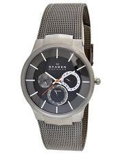 Skagen 809XLTTM Men's Titanium Carbon Fiber Dial Quartz Watch