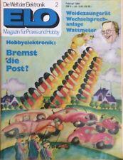 Die Welt der Elektronik ELO Magazin für Praxis & Hobby 02/ 1980 gelocht B-9010