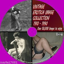 50000 VICTORIAN EDWARDIAN ART IMAGES CORSETS/VAMPS/FASHION SETS DVD 1900 -80 NEW