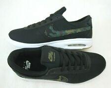 Nike Mens SB Air Max Bruin Vapor TXT Black Camo Skate Shoes Size 10 AA4257 005