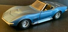 Revell Diecast 1969 Corvette L89 Stingray Convertible 1:18 Blue