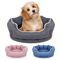Memory Foam Pet Bed Dog House Puppy Lounge Removable Soft Warm Orthopedic Kennel