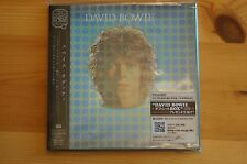 Rare David Bowie Space Oddity MINI Vinyl CD EMI Japan Carded Sleeve OBI