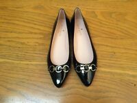 KATE SPADE NEW YORK NADIA PATENT LEATHER FLAT SHOES NWOB SIZE 5.5