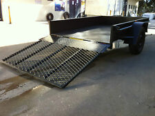 Box Trailer LED NEW 8X5FT H DUTY+ LOADING RAMP ALSO 7X5 8X4 9X5 AVAILABLE