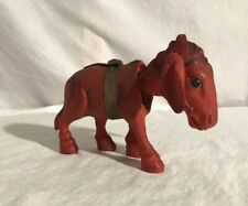 Celluloid Wind Up Donkey Toy Japan 1930s-40s