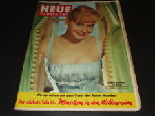 Jayne Mansfield … inside 3 sides, many photos … german magazine … 1957