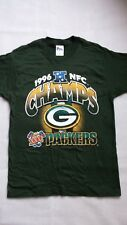 Green Bay Packers 1996 NFC Champion Vintage T-Shirt Med. Supper Bowl XXXI  Rare a4db79956