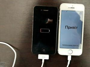 Apple iPhone 4s - 8 Go et Iphone 5s  POUR PIECES