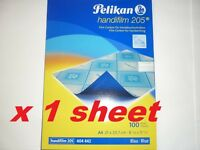 Pelikan Handifilm 205 film carbon paper for handwriting smudge proof dense BLUE