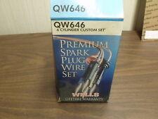 SPARK PLUG WIRE SET 7MM WELLS QW646 TOYOTA COROLLA 1969 - 1974 1977 -1979