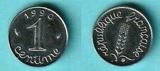 1 centime Épi 1990 frappe courante 15 011 ex. RARE !