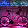 Bike Light 2M / 20LED Motorrad Radfahren Fahrrad Felgen sprach Blitzlicht Lampe